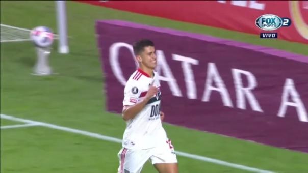 Sao Paulo vs Cristal: así fue el gol de Vitor Bueno