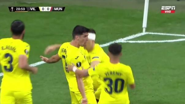 Villarreal 1-0 Manchester United: así fue el gol de Gerard Moreno