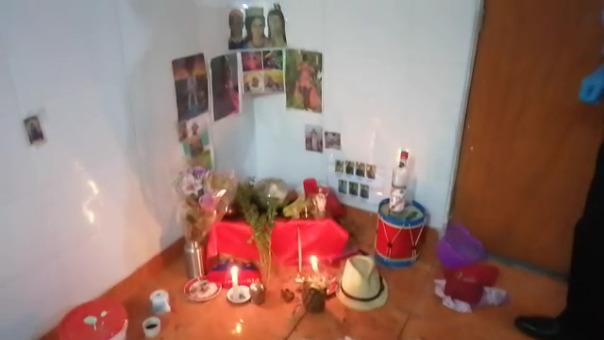 Ritual de santería en vivienda de presuntos delincuentes en SJM