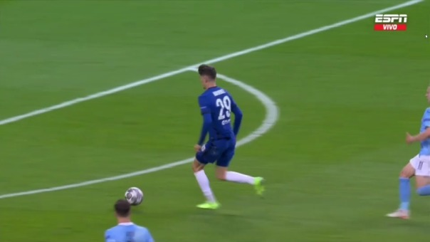 Así fue el gol de Kai Havertz en el Chelsea vs. Manchester City