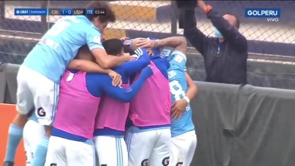 Sporting Cristal 1-0 San Martín: así fue el gol de Alejandro Hohberg
