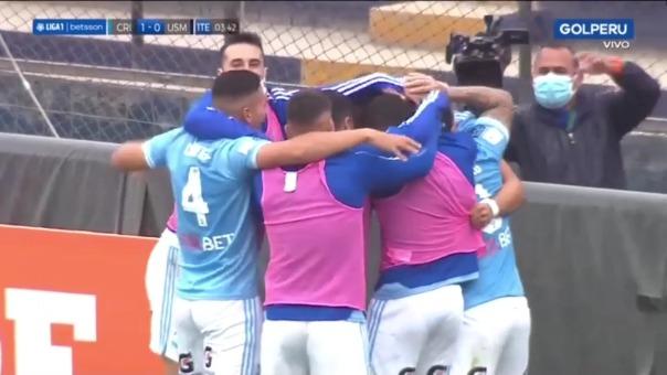 Sporting Cristal 1-0 San Martín: así fue el gol de ALejandro Hohberh