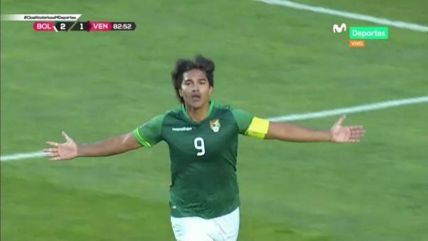 Bolivia 3-1 Venezuela: así fue el gol de Marcelo Martins, el segundo