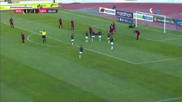 Bolivia 2-1 Venezuela: así fue el gol de  Diego Bejarano