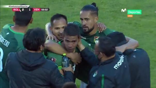 Bolivia 2-1 Venezuela: Así fue el gol de Bejarano