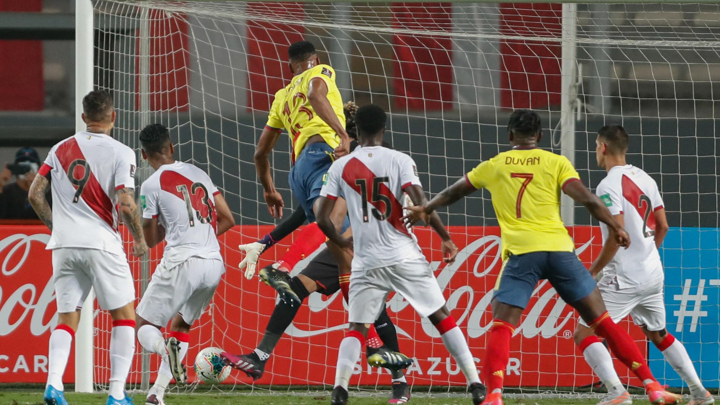Gol de Yerry Mina.