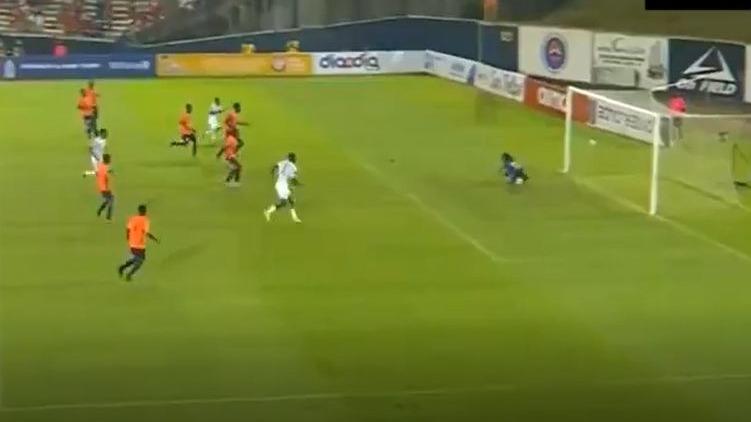 Así fue el gol de Quintero en el partido de Panamá.