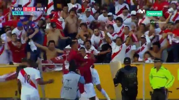 Gol de Paolo Hurtado.