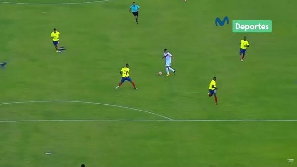 El último gol de Perú ante Ecuador en unas Eliminatorias fue de Paolo Hurtadp