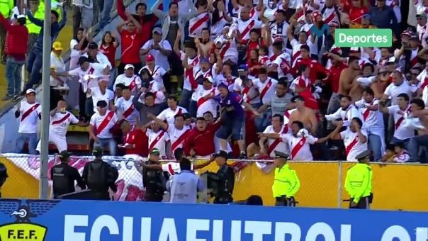 El último gol de Perú ante Ecuador en Quito por las Eliminatorias