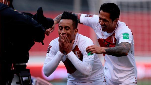 Así fue el gol de Cueva en el partido contra Ecuador en Quito.