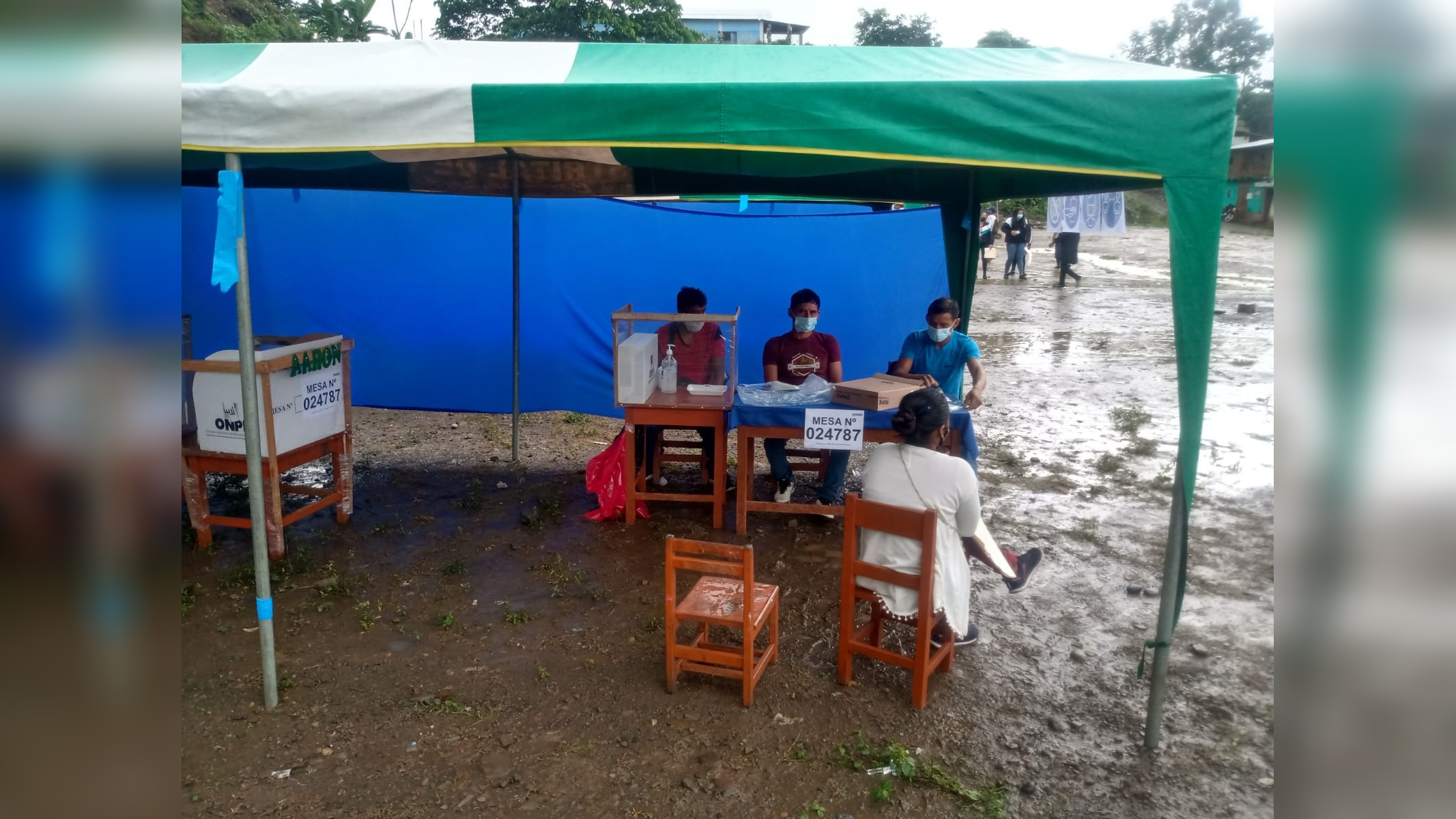 En San Miguel del Ene se realizó la jornada electoral sin incidencias.
