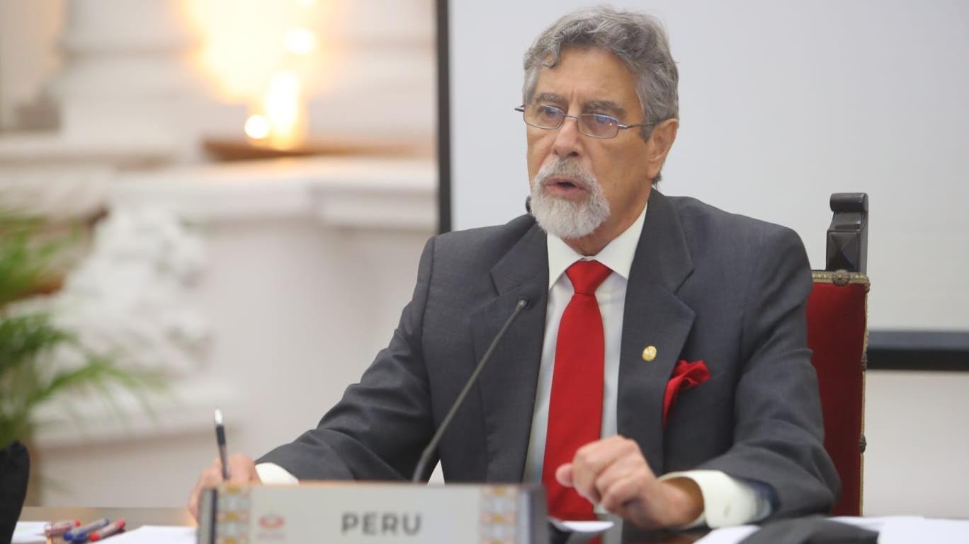 Bancada de Fuerza Popular en contra de eventual censura a Francisco Sagasti