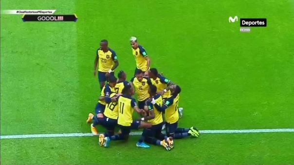 Ecuador goleó 6-1 a Colombia en el último enfrentamiento de ambos