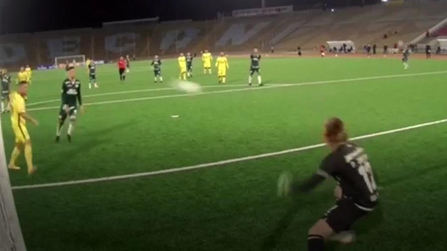 Así fue el gol de Zárate para victoria de Coopsol sobre Universitario.