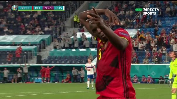 Bélgica 3-0 Rusia: así fue el segundo gol de Lukaku