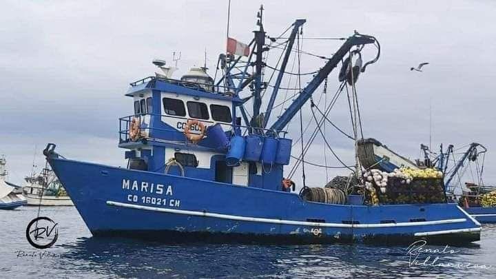 Los diez pescadores partieron del Puerto de Pisco en la embarcación 'Marisa'.