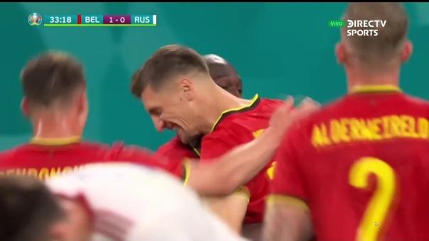 Bélgica vs Rusia: así fue el gol de  Thomas Meunier