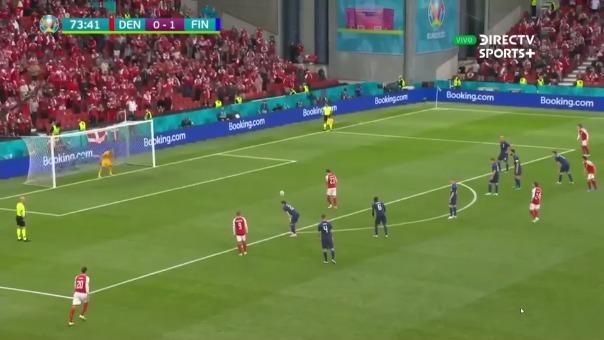 Hojbjerg erró penal en favor de Dinamarca ante Finlandia