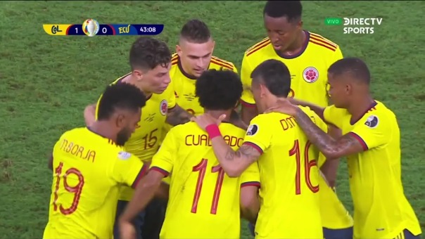 Colombia 1-0 Ecuador: así fue el gol de Edwin Cardona