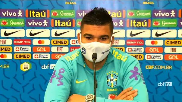 Casmiro habló de la prensa previo a su debut ante Venezuela en la Copa América