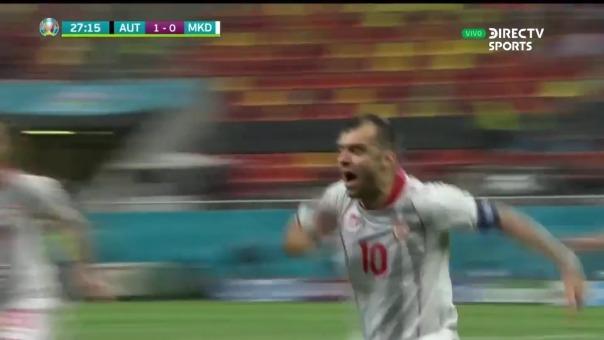 Gol de Goran Pandev.