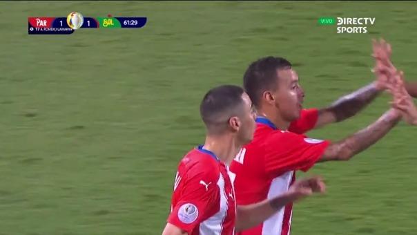 Paraguay 1-1 Bolivia: así fue el gol de Romero Gamarra