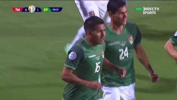 Paraguay vs Bolivia: así fue el gol de Saavedra