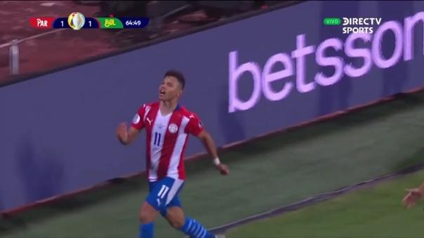 Paraguay vs Bolivia: así fue el gol de Ángel Romero.