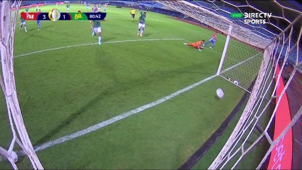 Paraguay vs Bolivia: así fue el segundo gol de Ángel Romero