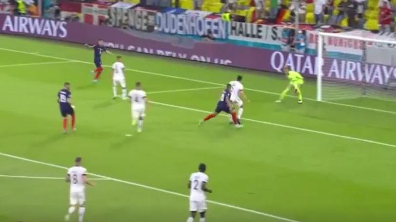 Así fue el autogol de Hummels en el Francia contra Alemania por la Eurocopa.