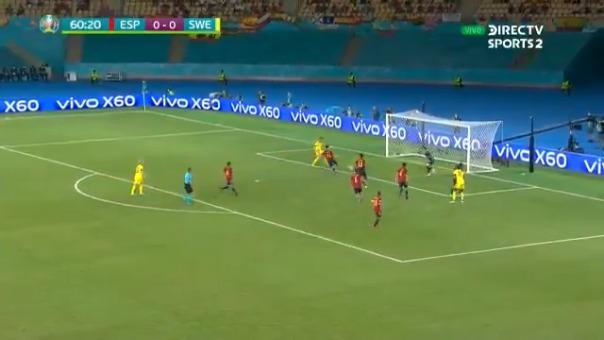 Marcus Berg falló increíble ocasión en el Suecia vs. España