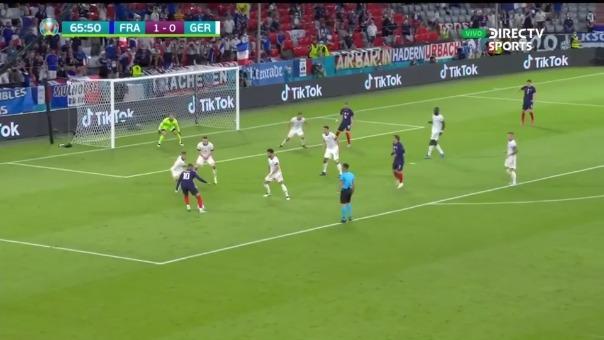 Gol anulado a Kylian Mbappé en el Francia vs. Alemania
