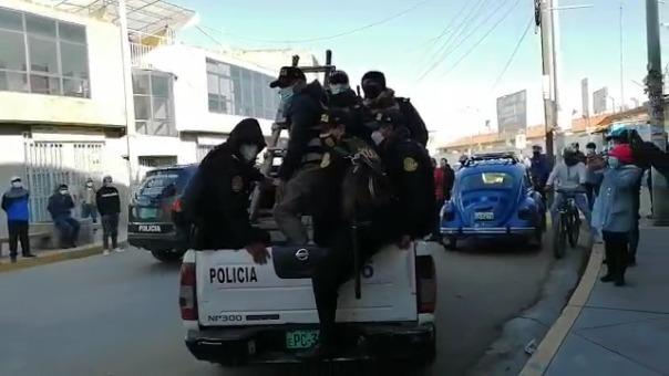 Policía intervino viviendas de los implicados en la presunta red criminal