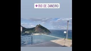 Lapadula en Río de Janeiro.