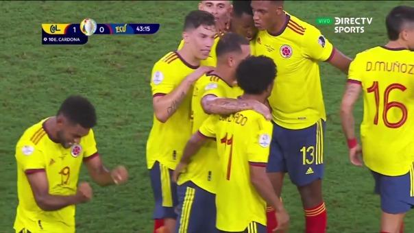Edwin Cardona anotó en el triunfo de Colombia ante Ecuador