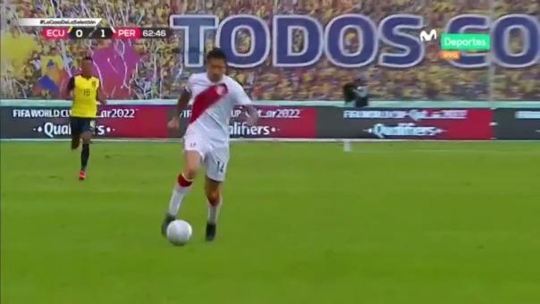 Gianluca Lapadula registra dos asistencias en la Selección Peruana