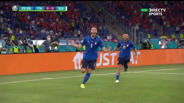 Italia vs Suiza: así fue el gol de Locatelli