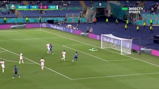 Italia 3-0 Suiza: así fue el gol de Immobile