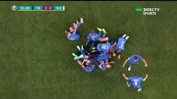 Italia 2-0 Suiza: así fue el gol de Manuel Locatelli
