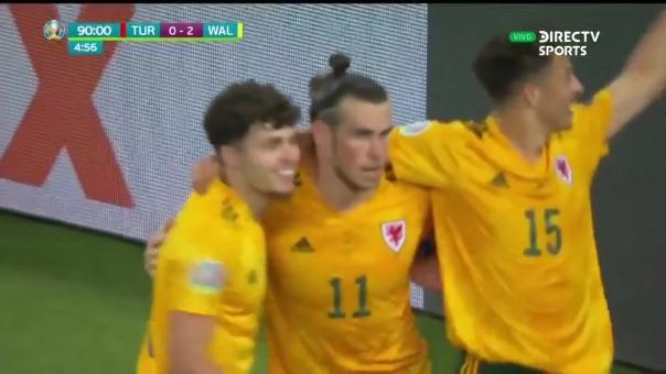 El pase gol de Gareth Bale