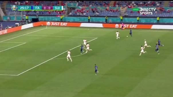 Locatelli puso el 1-0 de Italia ante Suiza