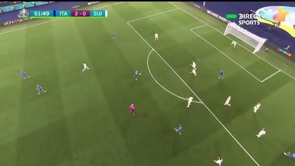 Segundo gol de Italia.
