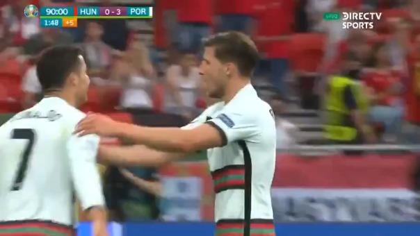 Celebra Cristiano Ronaldo.