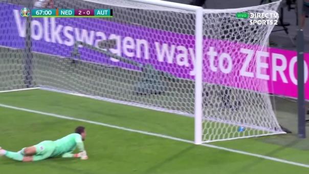 Holanda 2-0 Austria: así fue el gol de Denzel Dumfries