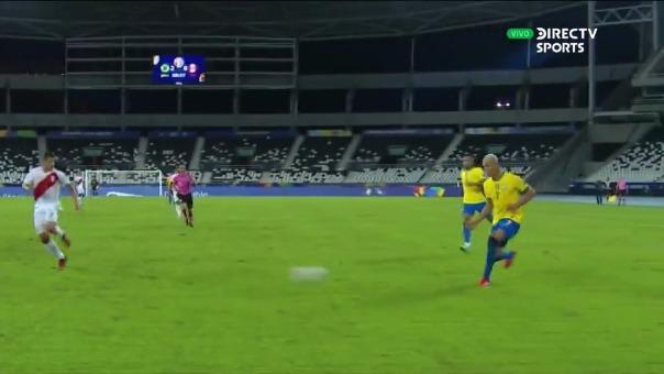 Brasil 3-0 Perú: así fue el gol de Everton Ribeiro