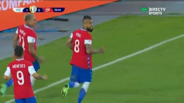 Eduardo Vargas es el goleador histórico de Chile en Copa América