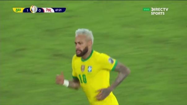 Neymar registra dos goles en la Copa América 2021