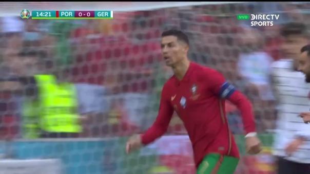 Portugal vs Alemania: así fue el gol de Cristiano Ronaldo