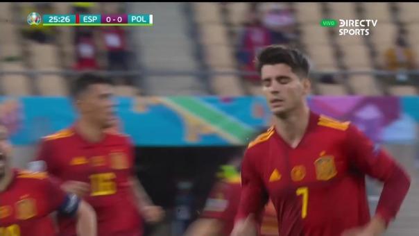 España 1-0 Polonia: así fue el gol de Morata